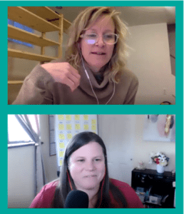 Dorsey Sherman and Jamie V. Parker Talk Relationships and Employee Engagement over Zoom