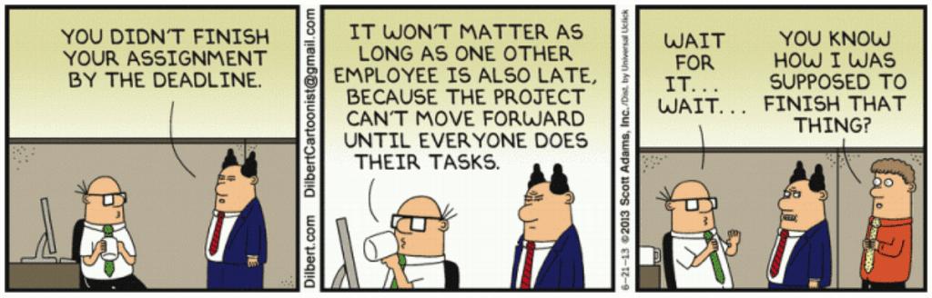 Dilbert - Reliable Promising