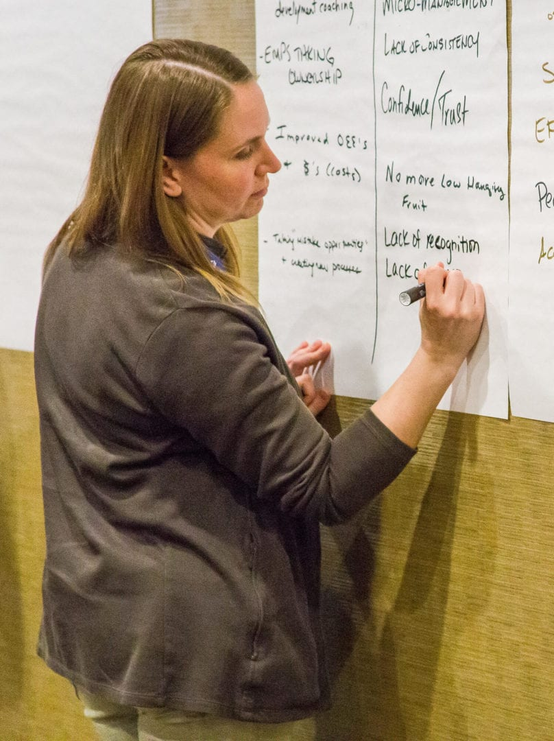 Live Lean leadership training in-person and virtual
