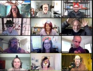 Lean Communicators Making Funny Faces